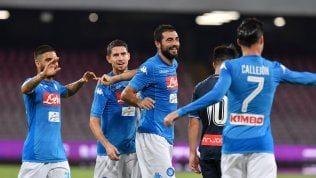 Napoli, buona la prova generale in vista del Nizza: liquidato 2-0 l'Espanyol